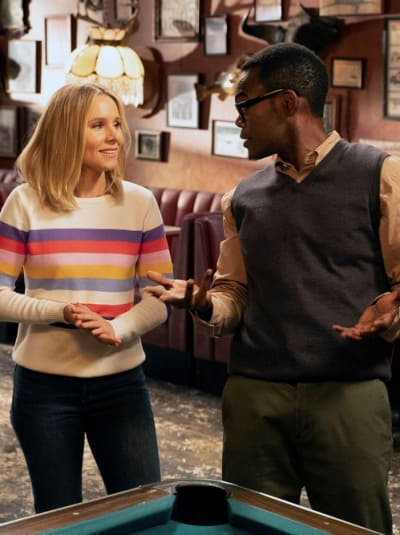 Fess Up - The Good Place Season 3 Episode 9