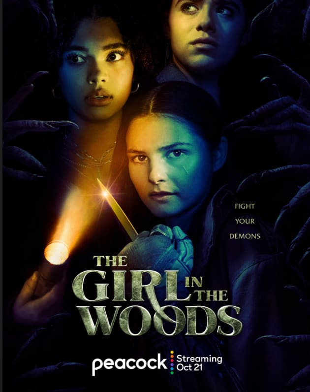 The Girl in the Woods Trailer: Peacock Supernatural Drama ...