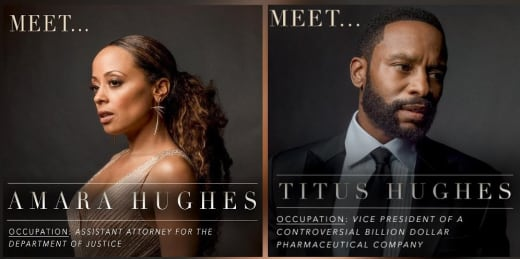 Amara and Titus Posters