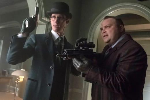 Butch and Riddler - Gotham Season 3 Episode 20