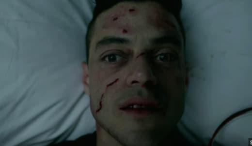 Elliot in Pain - Mr. Robot Season 2 Episode 6