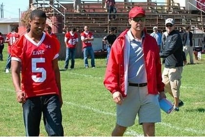 Vince and Coach