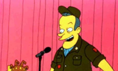 Bob Hope on The Simpsons