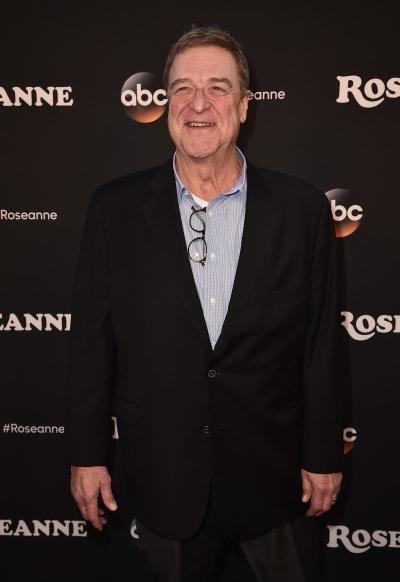John Goodman Attends Roseanne Premiere