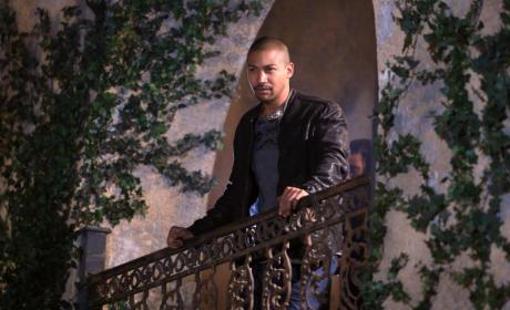 Marcel on the Balcony