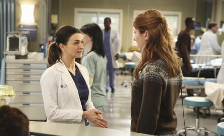 Amelia at Work - Grey's Anatomy Season 11 Episode 7