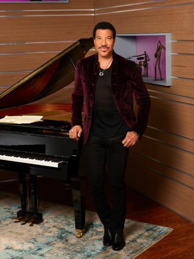 Lionel Richie on American Idol