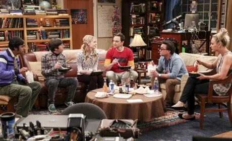 She's in Amy's Spot... - The Big Bang Theory Season 10 Episode 24
