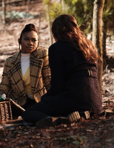 Brie and Demon Hunting - Legacies Season 3 Episode 10