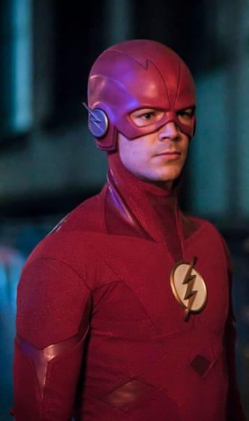 Flash Faces Cicada - The Flash Season 5 Episode 16