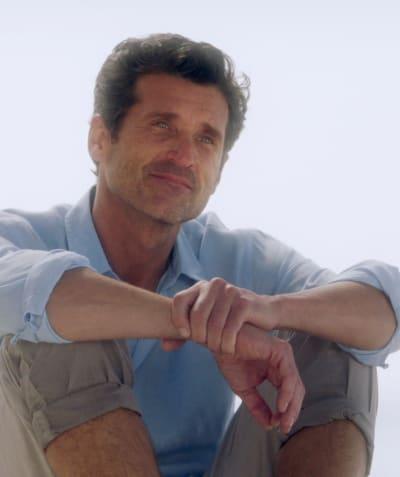 Derek's Angelic Glow - Tall  - Grey's Anatomy Season 17 Episode 13