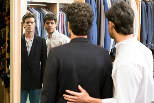 Lyle and Erik Shopping - Law & Order True Crime: The Menendez Brothers Season 1 Episode 1