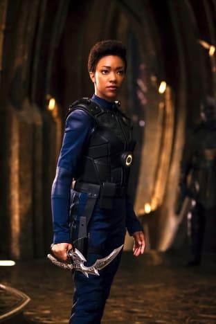 Burnham, Ready for Battle - Star Trek: Discovery Season 1 Episode 9