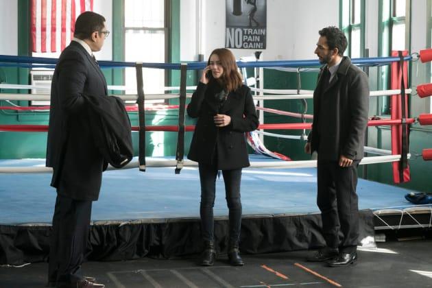 Liz visits the gym - The Blacklist Season 4 Episode 15