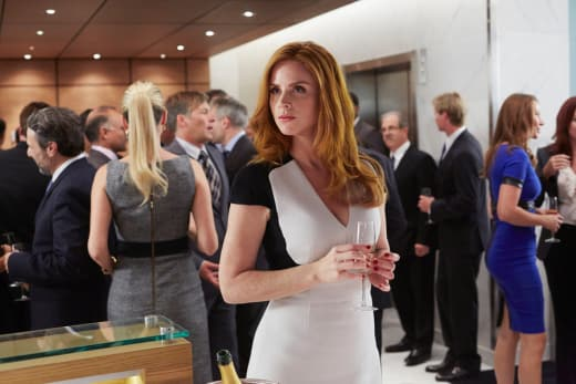 Donna's Drinking - Suits Season 4 Episode 11