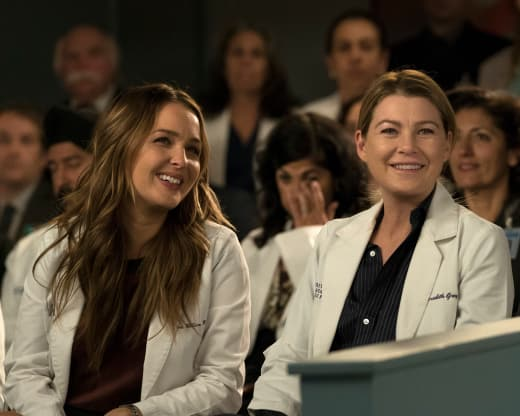MerJo Nervous Laughter - Grey's Anatomy Season 14 Episode 20