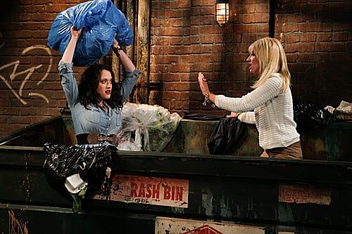 Max & Caroline Search a Dumpster
