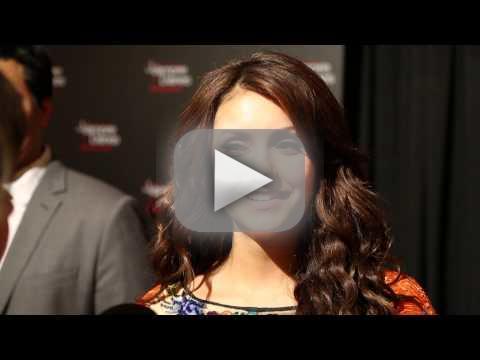 Nina Dobrev Red Carpet Interview