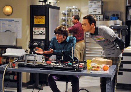 Sheldon and Wolowitz