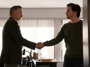 Detective Ambrose Greets Someone - The Sinner