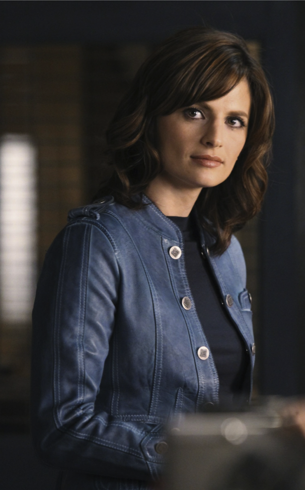 Beckett's Blue Leather