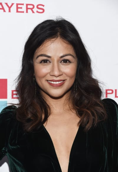 Karen David Attends Event