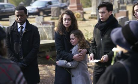 A Funeral — Orphan Black Season 5 Episode 9