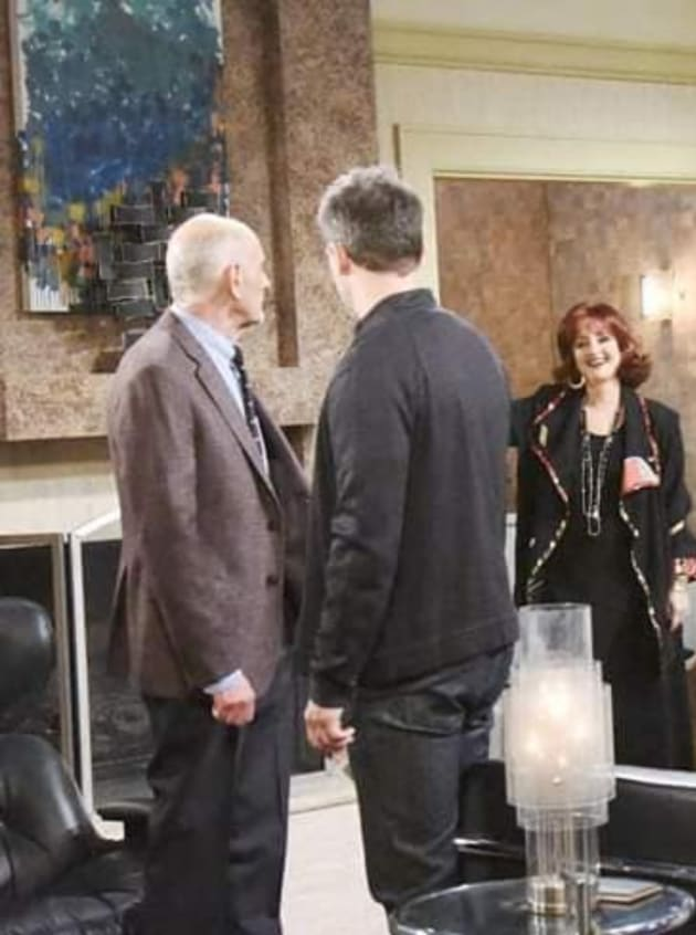Eric Confronts Dr. Rolf - Days of Our Lives