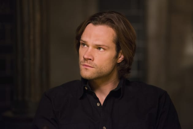 Sam gives his mom the look - Supernatural Season 12 Episode 14