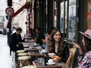 A Lunch Date in Paris - Emily in Paris