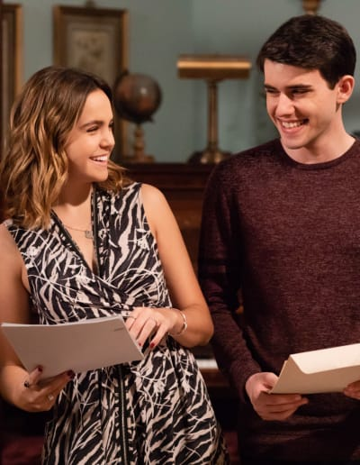 Grace and Nick Study Together - The Good Witch Season 5 Episode 1