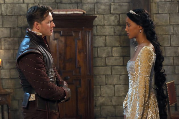 Charming and Rapunzel