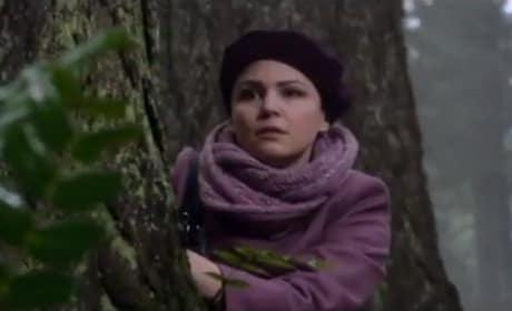 Mary Margaret in the Woods