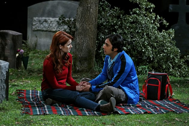 Emily and Raj - The Big Bang Theory Season 8 Episode 24