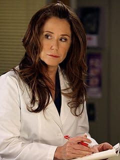 Mary McDonnell on Grey's Anatomy