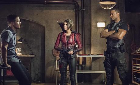 Seeking Advice - Arrow Season 4 Episode 1