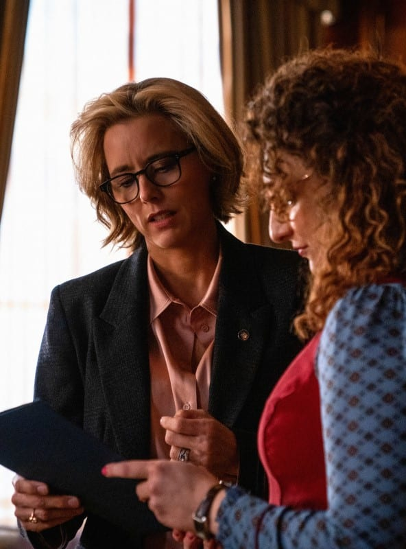 Elizabeth and Nina - Madam Secretary Season 5 Episode 16