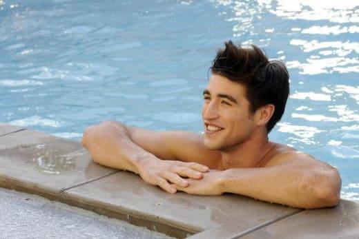 Derek in the Pool