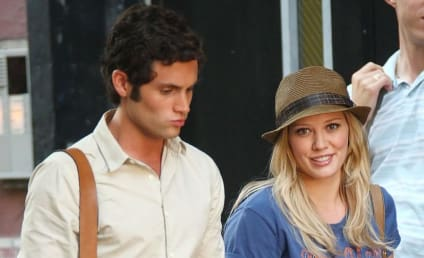Spotted on the Gossip Girl Set: Hilary Duff!