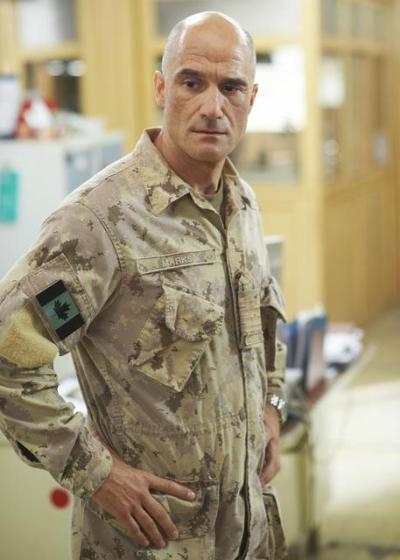 Elias Koteas on Combat Hospital
