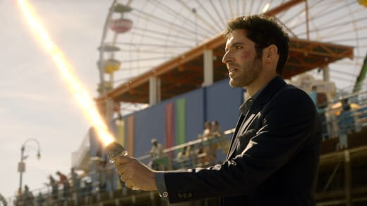 Not Having Fun - Lucifer Season 2 Episode 18