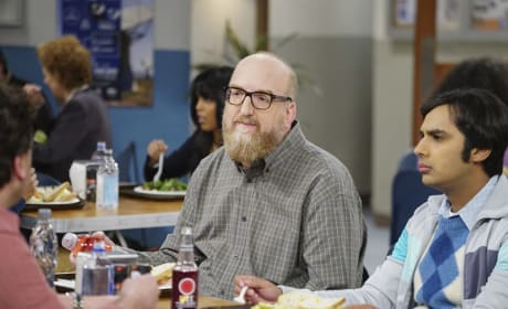 Bert Joins for Lunch - The Big Bang Theory Season 10 Episode 21