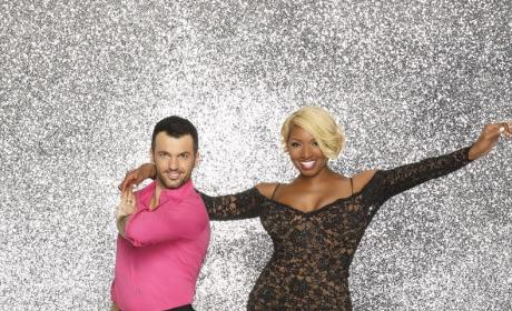 NeNe Leakes and Tony Dovolani