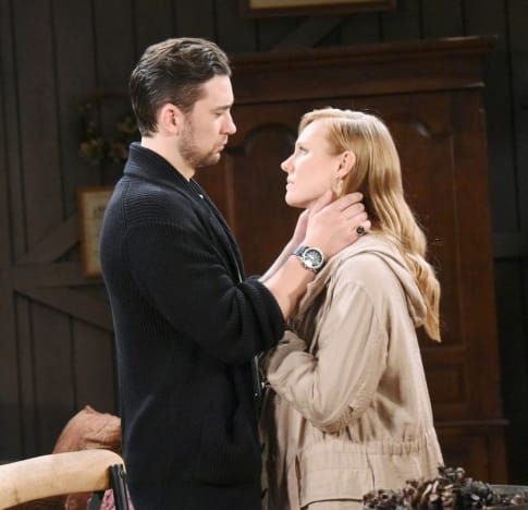 Held Hostage by Her Husband (Tall) - Days of Our Lives