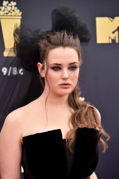 Katherine Langford Attends MTV Movie & TV Awards