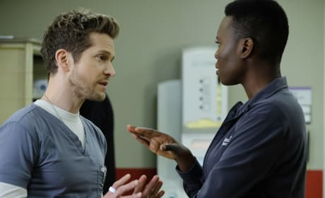 Heated Hawfor - The Resident Season 1 Episode 14