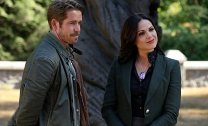 Once Upon a Time Q&A: Lana Parrilla on Outlaw Queen, Having a Ball & More