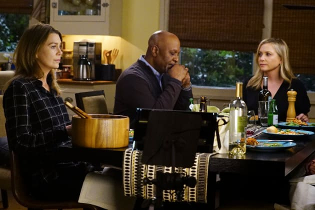 Dinner Table Conversations - Grey's Anatomy Season 13 Episode 18