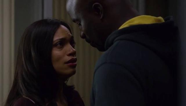 Luke Cage and Claire Temple - Luke Cage