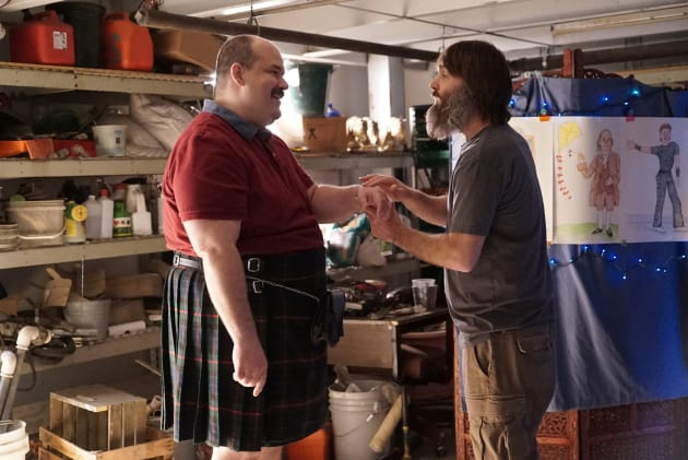 Todd gets help from his friends - The Last Man on Earth Season 4 Episode 14